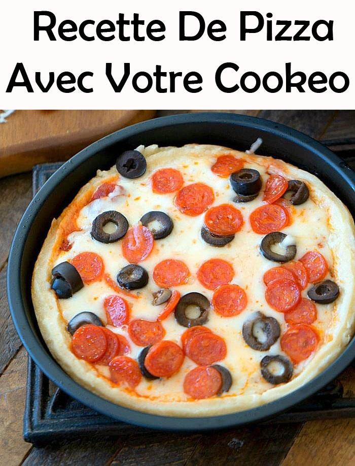 Pizza Avec Votre Cookeo