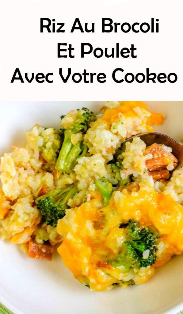 Riz Au Brocoli Et Poulet