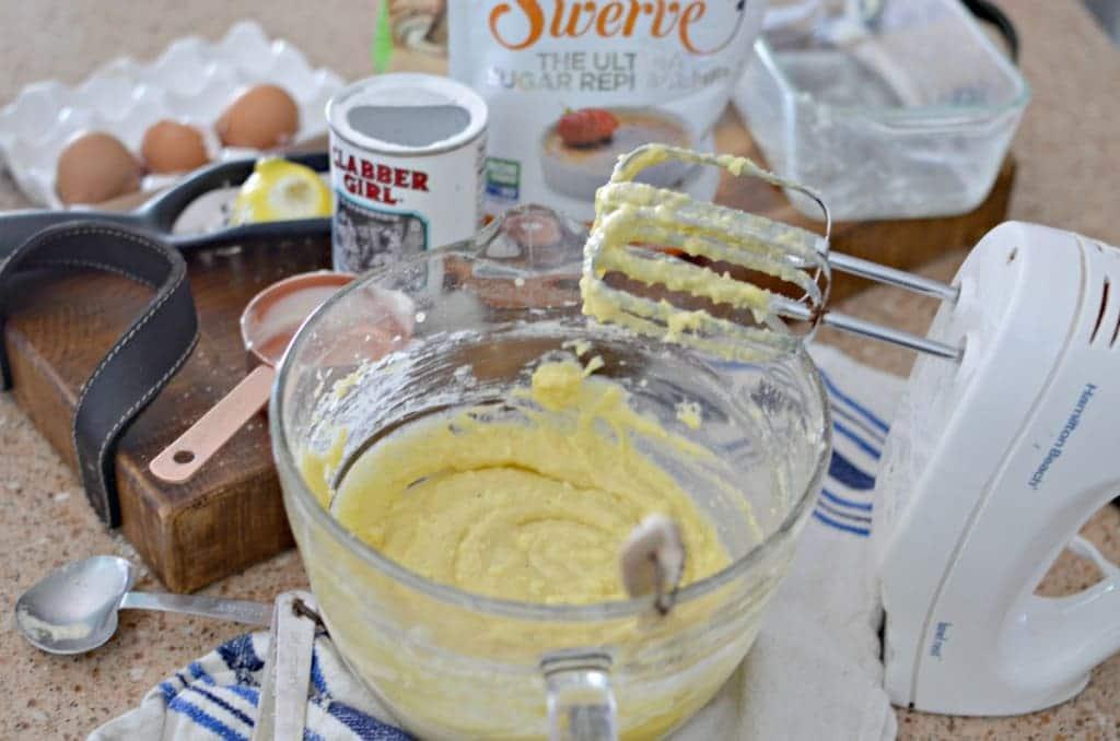 Le meilleur Pound Cake au citron Keto