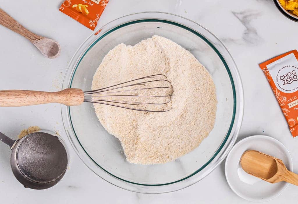 Cookies au chocolat blanc et à l'orange Keto