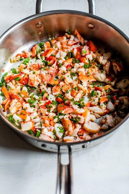 Air Fryer Lobster Jalapeño Empanadas
