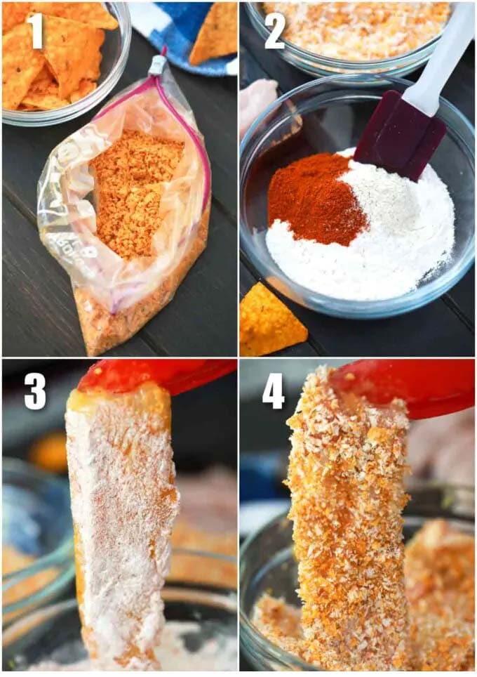 Air Fryer Dorito